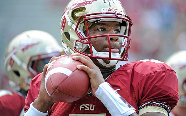 Florida State freshman phenom Jameis Winston faces his biggest game yet at Clemson. (USATSI)