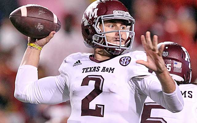 Johnny Manziel has almost single-handedly kept the Aggies in the BCS title hunt. (USATSI)