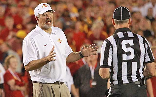 A hard-luck season for Iowa State only gets tougher with a trip to Baylor. (USATSI)