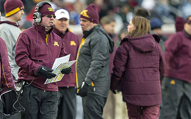 Jerry Kill has battled health issues since taking over at Minnesota. What does it mean for the future of the Gophers program? (USATSI)