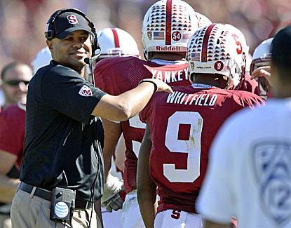 David Shaw and his Stanford Cardinal rebound from a stunning loss to Utah to defeat UCLA. (USATSI)