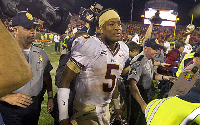 Jameis Winston throws for 444 yards and three scores to lead Florida State to a huge ACC victory. (USATSI)