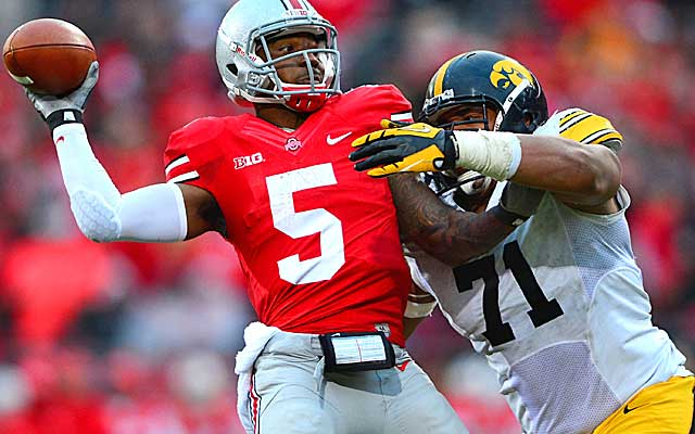 Braxton Miller and the 7-0 Buckyes are on the outside looking in for the BCS title game. (USATSI)