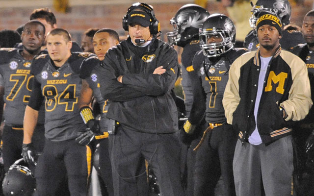 Despite Saturday's loss, Missouri is still in the driver's seat in the SEC East race. (USATSI)