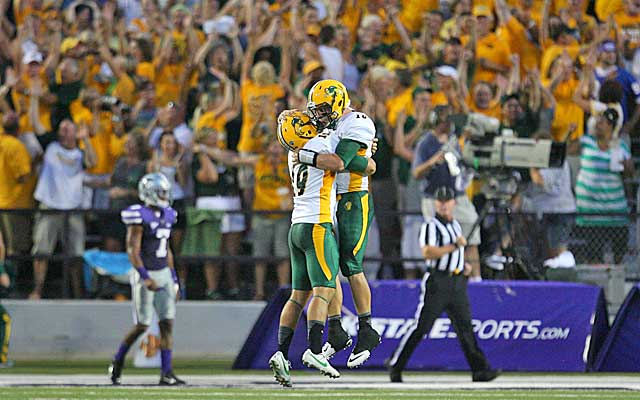 The Bison faithful travel well and sell out the Fargodome.  (USATSI)