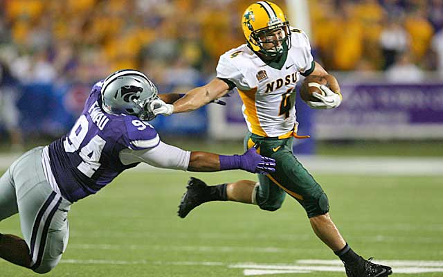 The Bison play old-school football, dominating time of possession on offense.  (USATSI)