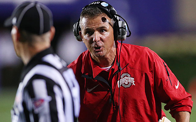 Urban Meyer's Buckeyes are still in the hunt for a BCS title. (USATSI)
