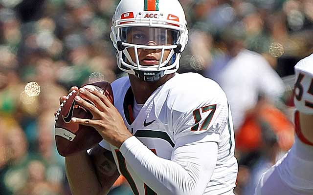 Can Stephen Morris keep Miami close against heavily-favored Florida State?  (USATSI)