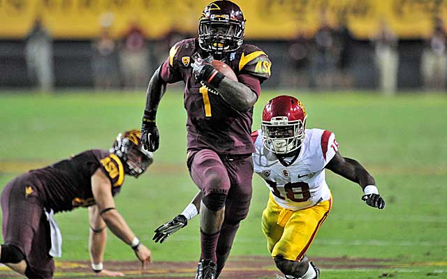 Sun Devils coach Todd Graham says Grice is 'as special a kid as I've coached.'  (USATSI)