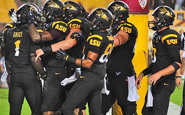 The Sun Devils have rallied around Grice, who has grown close with his teammates and coaches.  (USATSI)
