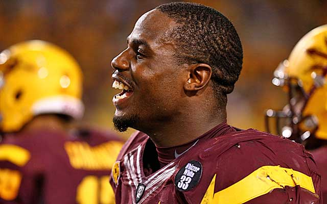 Grice says he wants to channel his success into influencing young children to 'be something in life.'   (USATSI)