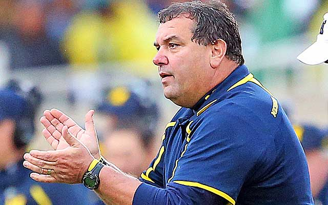 Brady Hoke has yet to bring Michigan back to elite status in college football.   (USATSI)