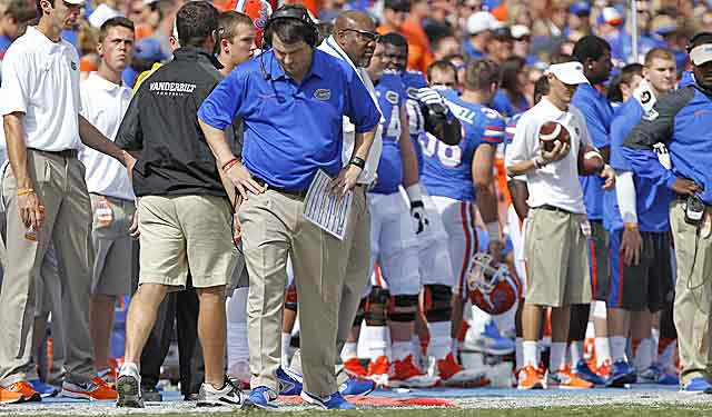 Things aren't looking up at Florida, but Will Mushchamp's 11 wins last season help his case. (USATSI)