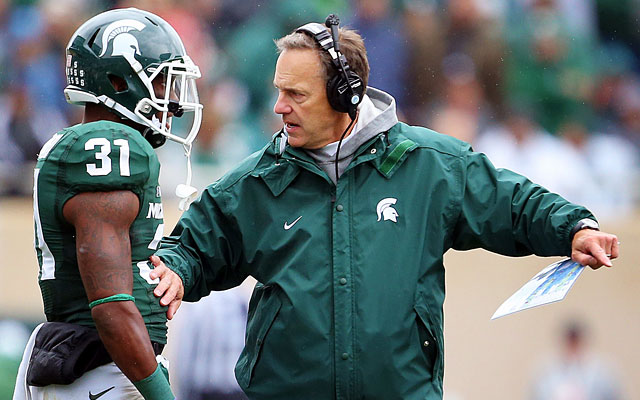 Darqueze Dennard has been a star for Mark Dantonio, giving up just 10 completions on 77 targets. (USATSI)