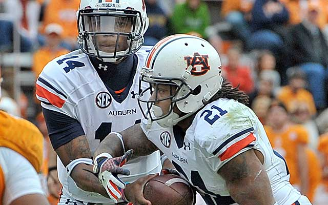 Nick Marshall and the Auburn Tigers are grinding out wins on the ground.  (USATSI)