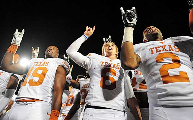 Case McCoy and the Horns have been living on the edge during an unbeaten run through the Big 12. .  (USATSI)