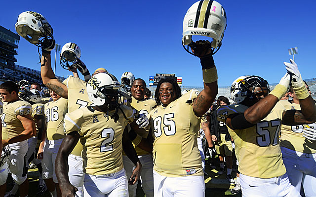 Few saw Central Florida as a BCS bowl contender. (USATSI)