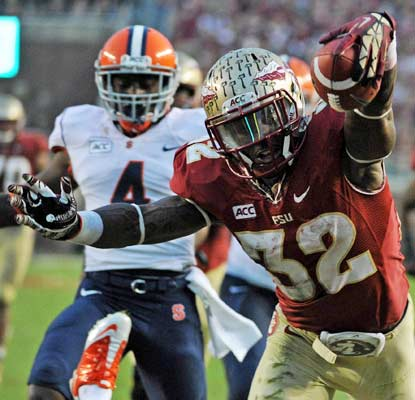 James Wilder Jr. and the Seminoles prove they aren't distracted by the Jameis Winston situation.  (USATSI)