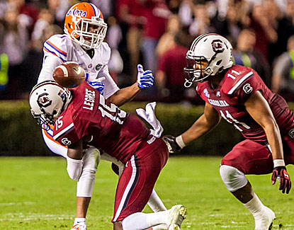 Florida's losing streak reaches five games, while South Carolina wins its 16th straight home game. (USATSI)