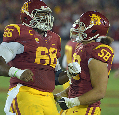 After knocking off No. 5 Stanford, USC has now won five out of six games and four straight.  (USATSI)