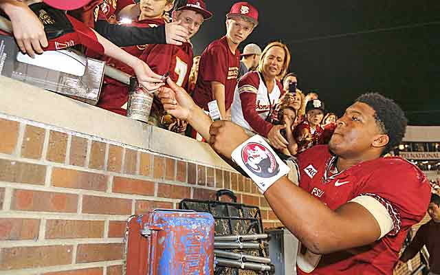Jameis Winston has Florida State in prime position, playoff or no playoff. (USATSI)