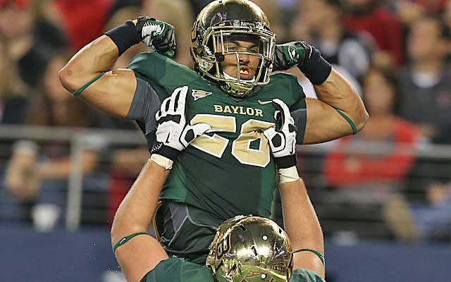 Baylor is up to No. 4 in the BCS standings -- and closing fast on Ohio State.  (USATSI)