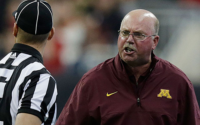 Minnesota's Jerry Kill has taken a step back from coaching to manage his health. (Getty)