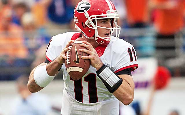 The Dawgs are out of the SEC race, but Aaron Murray still has plenty to play for.  (USATSI)