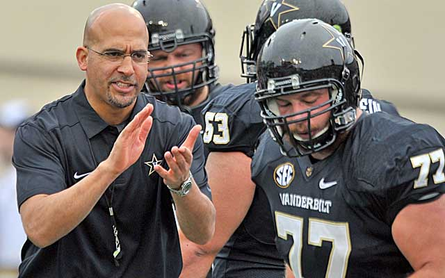 A second straight win over Tennessee would be huge for Vandy. (USATSI)