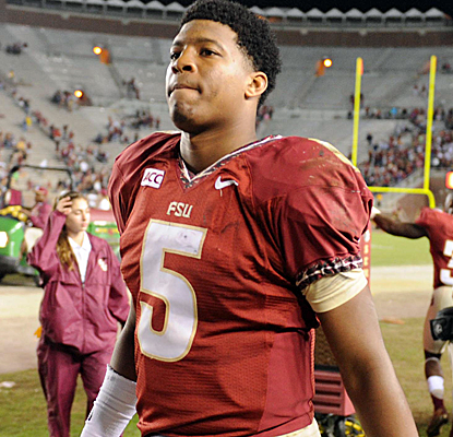 Jameis Winston throws four touchdowns as Florida State rolls up a school-record 80 points vs. Idaho.  (USATSI)