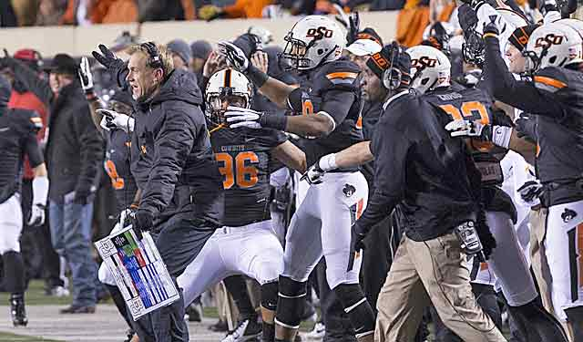 Oklahoma State takes apart Baylor, makes its case as the best one-loss team. (USATSI)