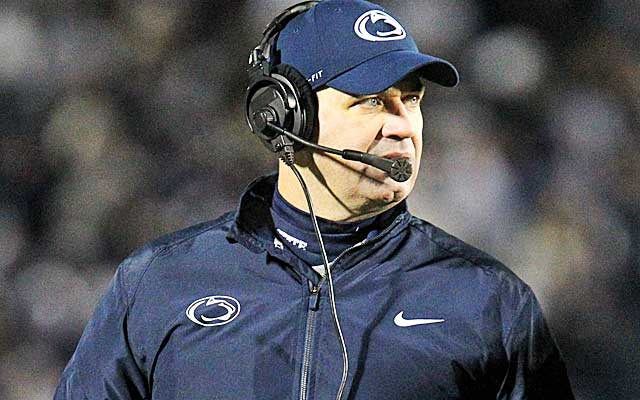 O'Brien's Nittany Lions lost to the Buckeyes 63-14.  (USATSI)
