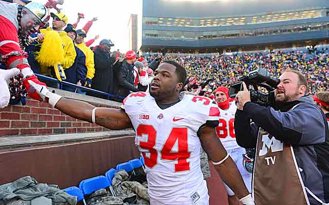 Carlos Hyde and the Buckeyes prevail at Michigan. Is it enough for some folks? (USATSI)