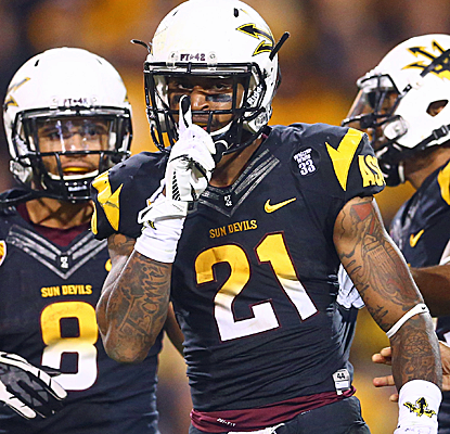 Arizona State cruises past rival Arizona, and will now host next week's Pac-12 Championship game.  (USATSI)