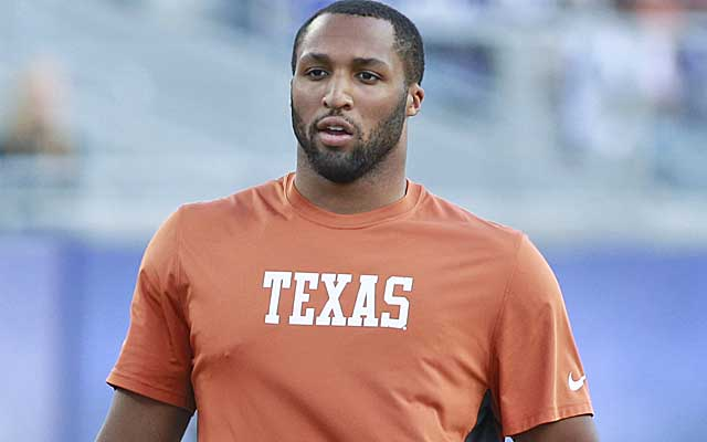 Jackson Jeffcoat's 10 tackles in a rout of Texas Tech boost his draft stock.  (USATSI)
