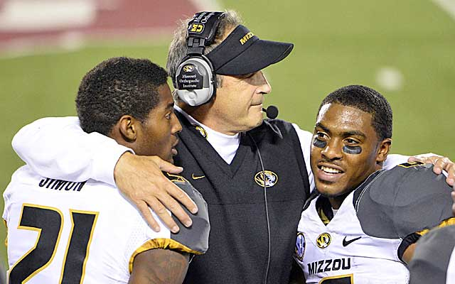From 5-7 in 2012 to the SEC title game in 2013, Gary Pinkel's turnaround of the Tigers has silenced critics.  (USATSI)