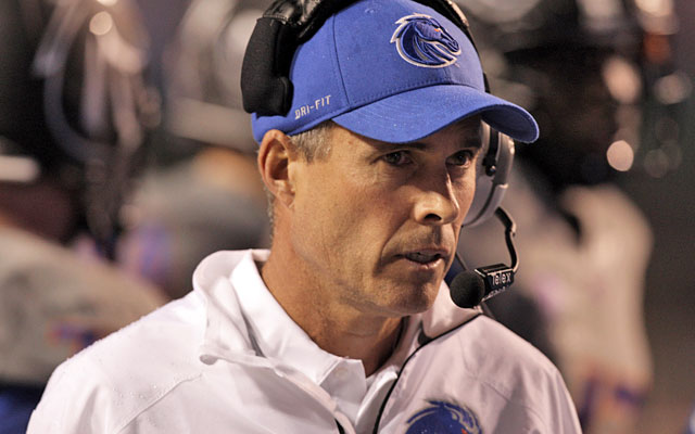 UW lands college coaching's white whale -- Chris Petersen is finally leaving Boise State. (USATSI)
