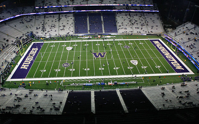 Chris Petersen's arrival at Washington will coincide with an upgraded Husky Stadium. (USATSI)