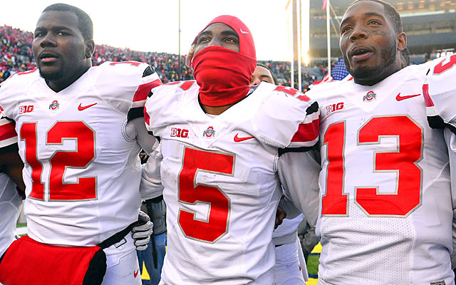 After stealing a win at Michigan, Ohio State is finding respect hard to come by despite its ranking. (USATSI)
