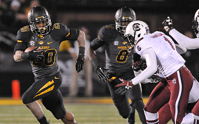 Missouri's double-overtime loss to South Carolina ended the Tigers' chance at an unbeaten season. (USATSI)