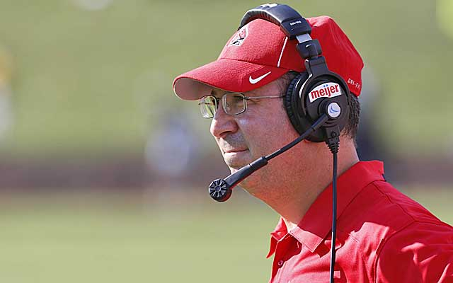 Ball State's Pete Lembo is among the candidates at Wake Forest.  (USATSI)