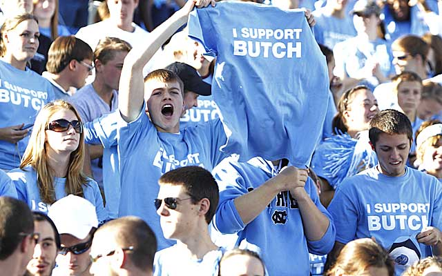 Butch Davis' tenure at North Carolina included two scandals that rocked the program.   (USATSI)