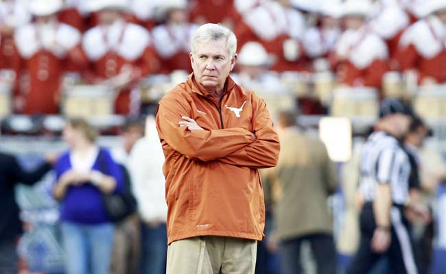 Mack Brown was reportedly contacted by a Nebraska representative. (USATSI)