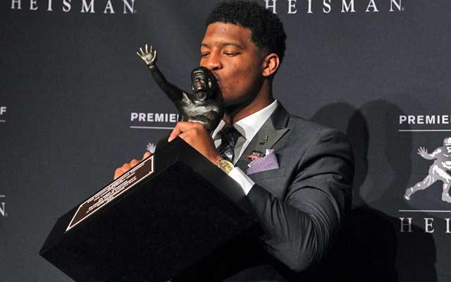 Jameis Winston is the third Florida State quarterback to take home the Heisman. (USATSI)