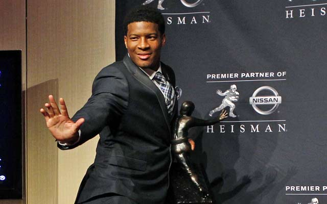 Jameis Winston became the second redshirt freshman to win the Heisman Trophy.  (USATSI)