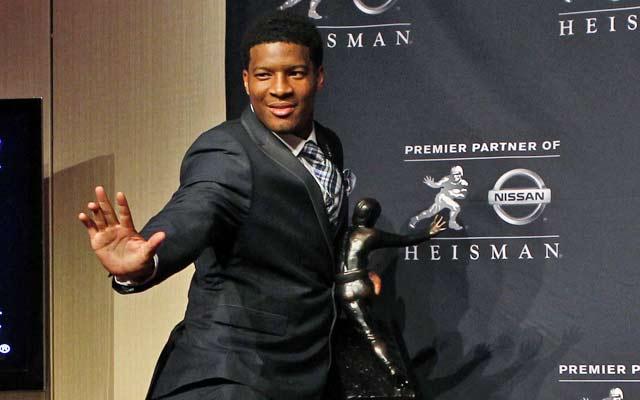 Jameis Winston was the second redshirt freshman to win the Heisman Trophy.  (USATSI)