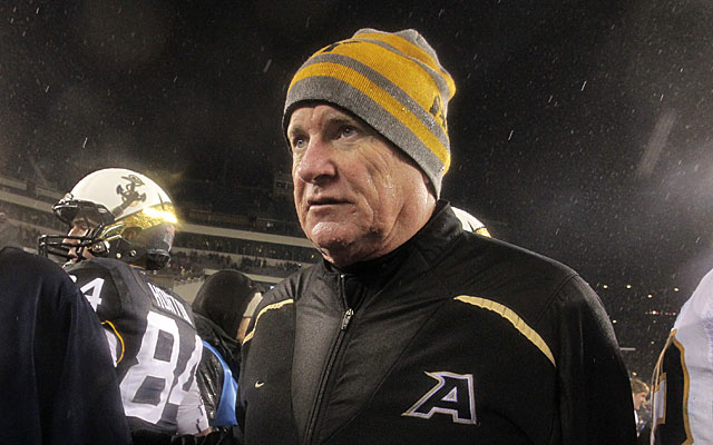 Army's losing streak to Navy grew to 12 in Rich Ellerson's five years at West Point. (Getty)