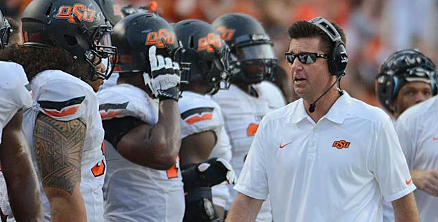 Mike Gundy outperforms Texas with Texas HS players the 'Horns didn't want. (USATSI)