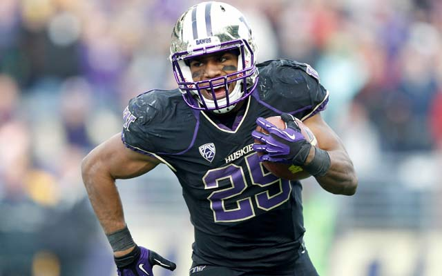 BYU will have a tough time stopping Washington running back Bishop Sankey. (USATSI)
