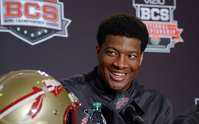 Jameis Winston would be a No. 1 NFL draft pick if not for his age. (USATSI)